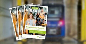 vlexx gibt mit handlicher Broschüre wieder Einblicke in den betrieblichen Alltag