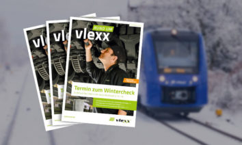 Lesestoff am Kleiderhaken: Broschüre gibt Einblicke in den vlexx-Betriebsalltag