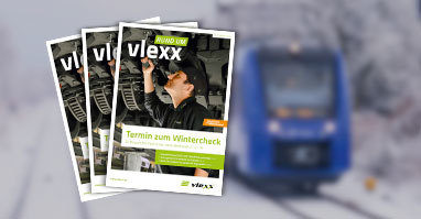 """Unsere Broschüre """"Rund um vlexx"""" mit spannenden Einblicken"""