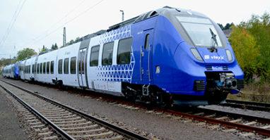 Blauer Zug