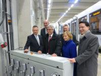 Feierliche Eröffnung des vlexx-Betriebswerks