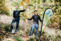 Forst statt Fahrplan: vlexx spendet 300 Bäume für die Region