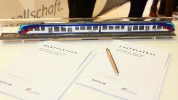 Kaufvertrag über DNSW-Fahrzeuge auf der InnoTrans in Berlin abgeschlossen