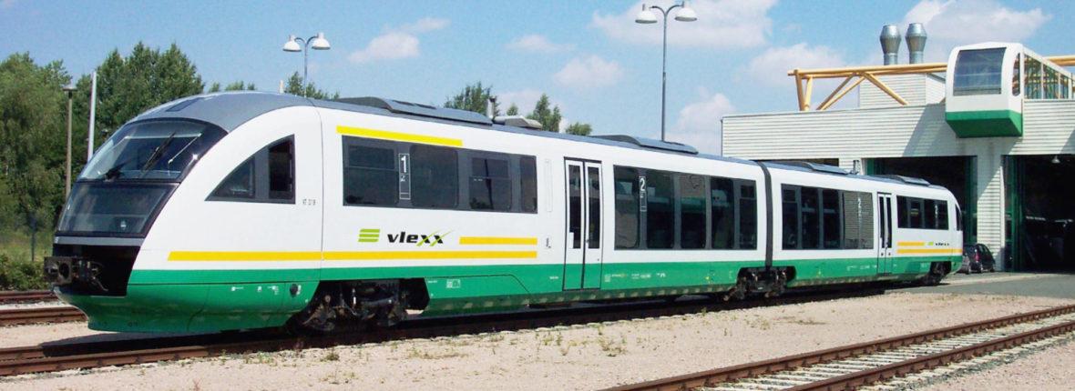 Fahrzeug Desiro Classic im Elektro-Netz Saar im Einsatz