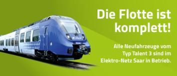 21. Talent-3-Fahrzeug macht die vlexx-Flotte im Saarland komplett