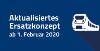 Ersatzkonzept ab 01. Februar 2020 aktualisiert